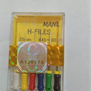 H FILES 25 MM JAPAN