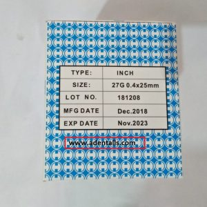NEEDLES DENTAL 100 PCS 42MM