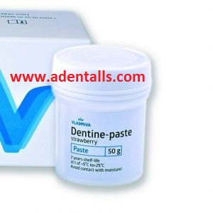 Dentine paste temporary filling
