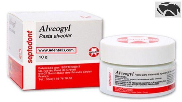 Alveogyl Dry socket Dressing.