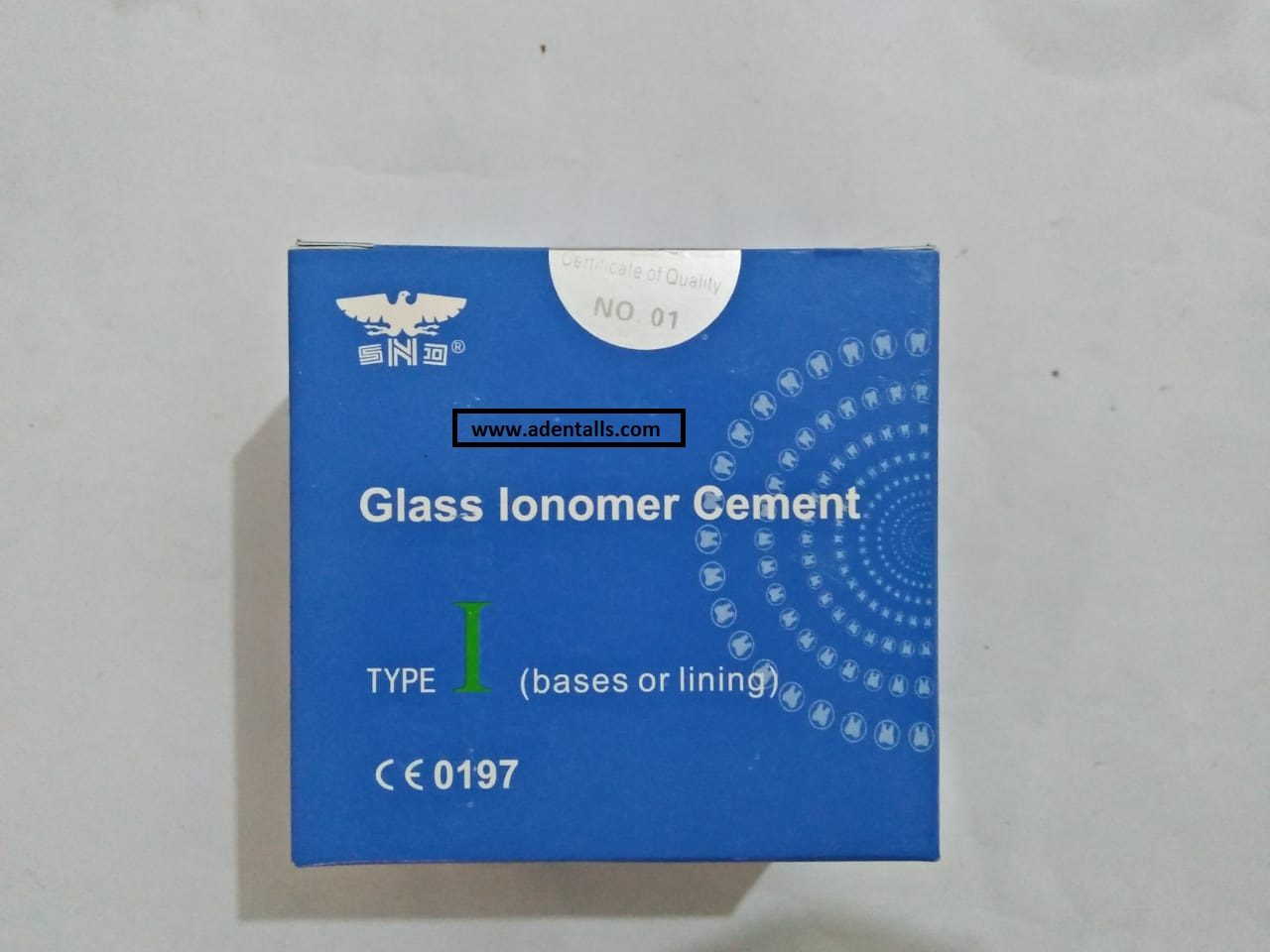 GLASS IONOMER CEMENT BLUE