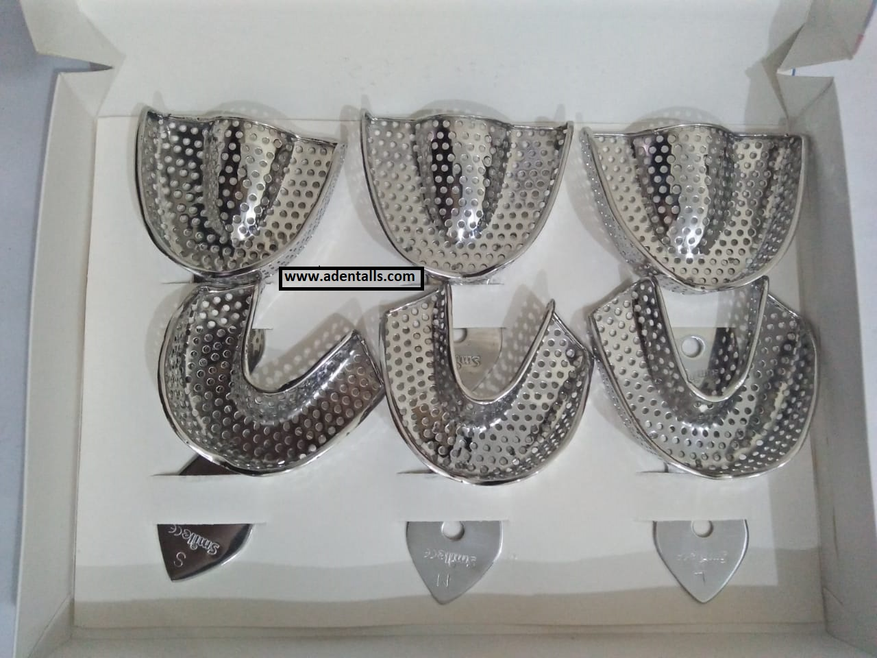 IMPRESSION TRAY STEEL SET