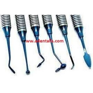 Composite and Plastic Filling Instruments Kit 6 pieces