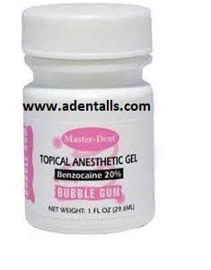 Topical Dental Anesthetic Gel Master Dent