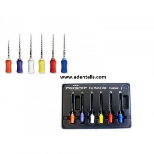 IMD Pro-Taper Hand Files for Oral Therapy