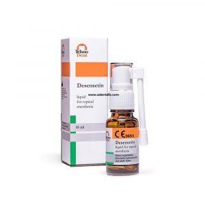 Spray d'anesthésie à la désensétine