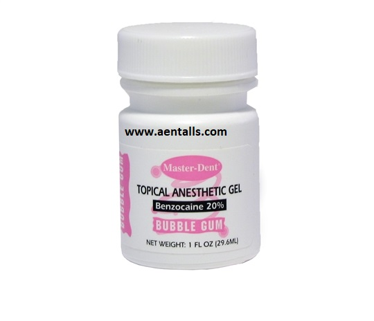 Topical Dental Anaesthetic Gel Master Dent