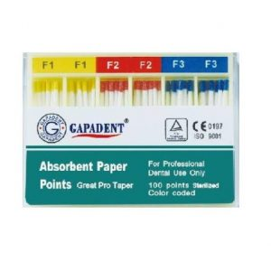 Paper Point Pro Taper F1-F3