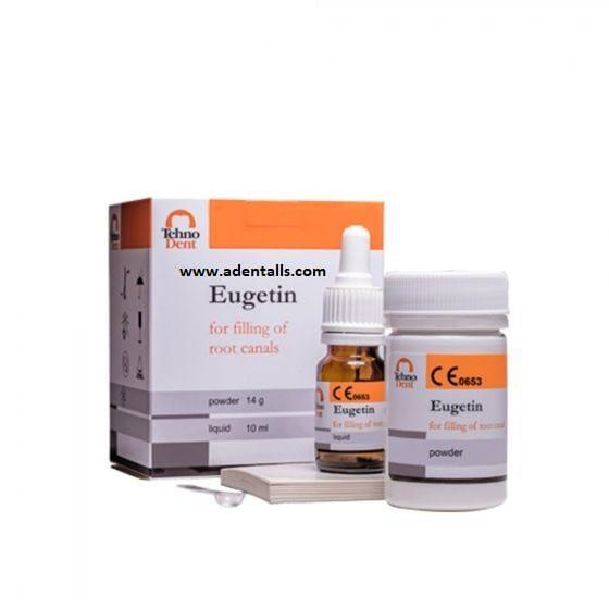 Llenado del conducto radicular de Eugetin