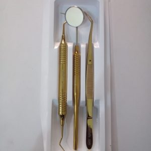 Examination Set Gold Colour
