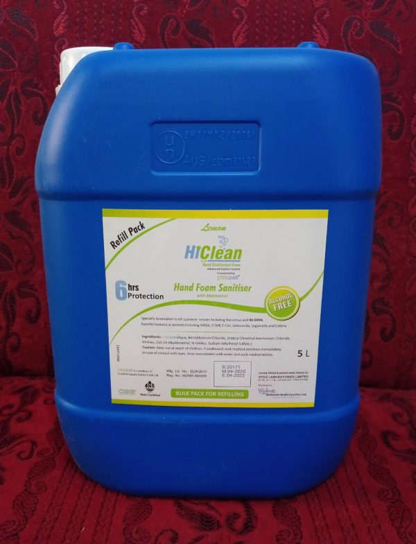 Hand Form Sanitizer Refill 5 liter
